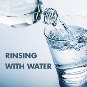 Rinsing